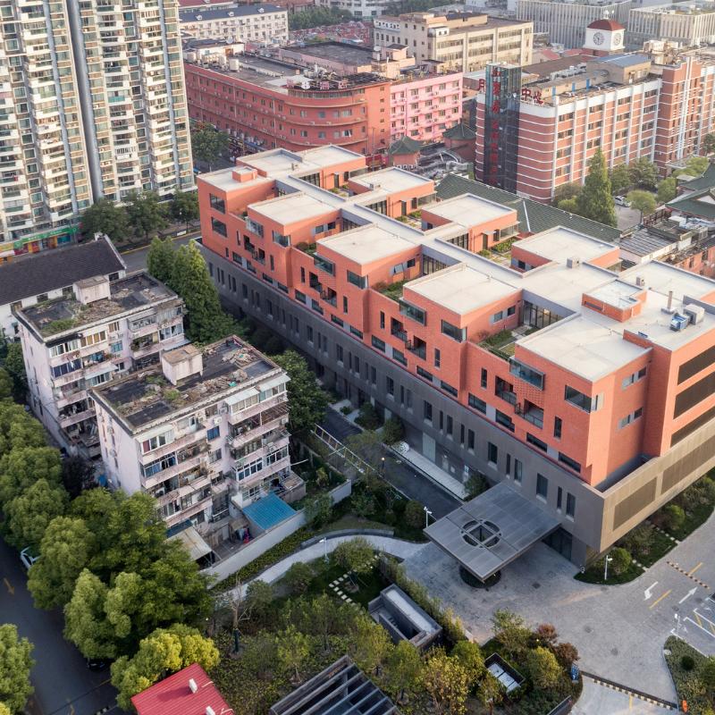 Huayi Staff Retreat, SHZF Architects