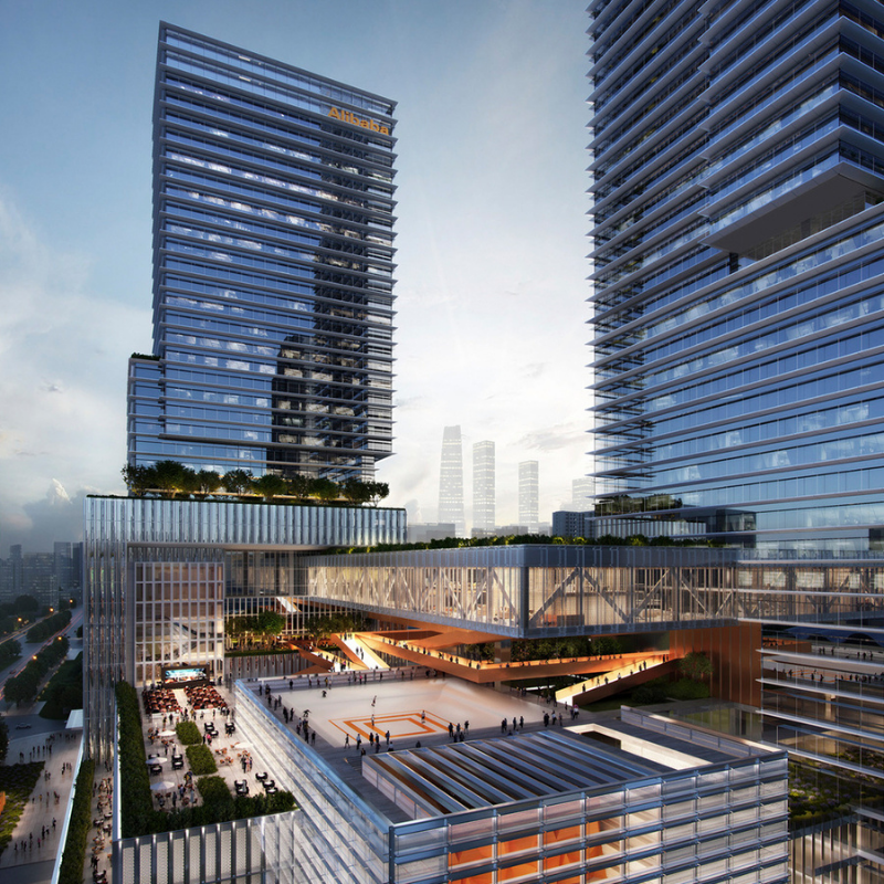 Alibaba Central China Headquarters and Industrial Complex, Benoy Limited