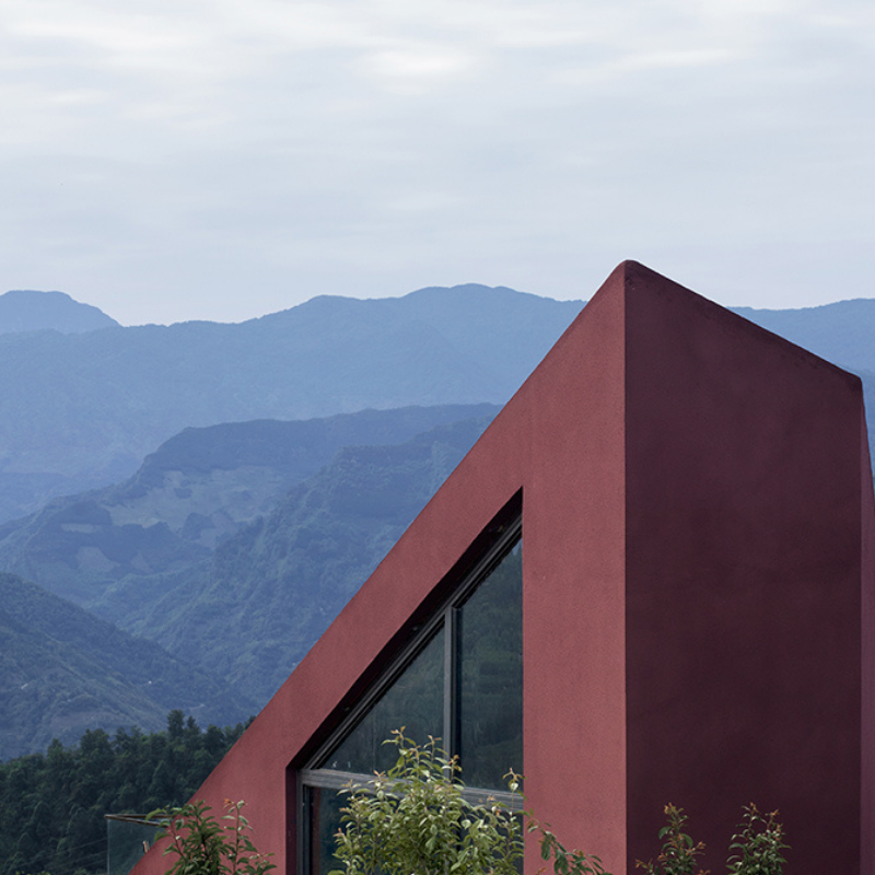 The 'church' in the valley--Mabian Visitor Center, We&Arch- Wuhe Architects