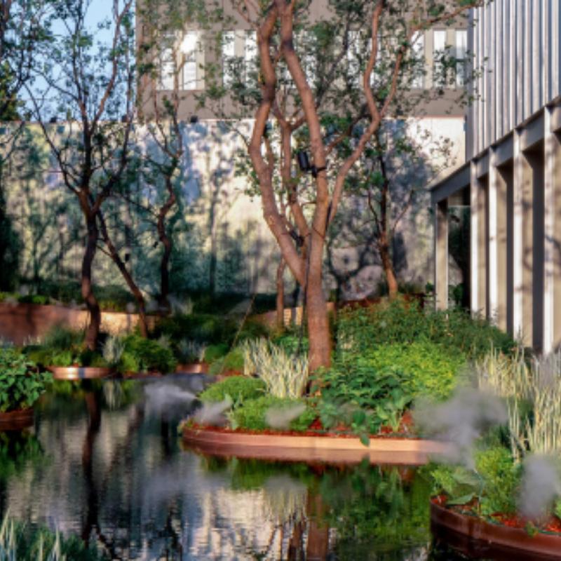 The Urban Riverside Forest, TROP: terrains + open space